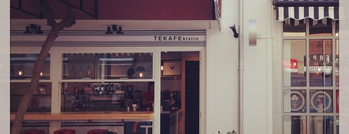TEKAFE bistrot is one of athensgiftさんのお気に入りスポット.