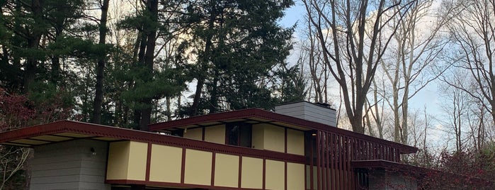 Frank Lloyd Wright's Louis Penfield House is one of ?.