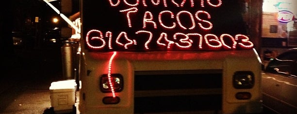 Junior's Tacos is one of The Buckeye's List.