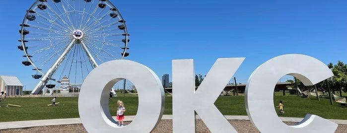 Wheeler Ferris Wheel is one of OKC Faves.