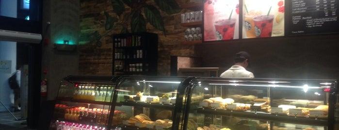 Starbucks is one of Delhi.
