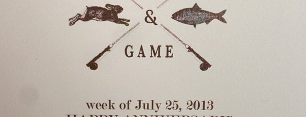 Fish & Game is one of Hudson Spots.