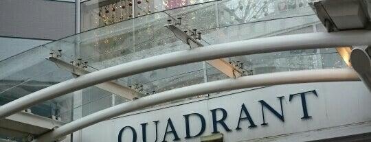 The Quadrant is one of Swansea.