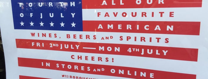 Borough Wines is one of London's Best for Beer.