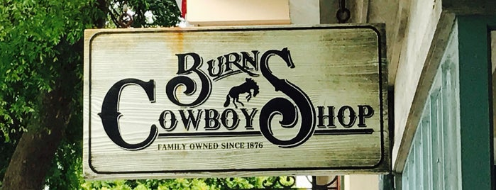 Burns Cowboy Shop is one of Alexander's Liked Places.