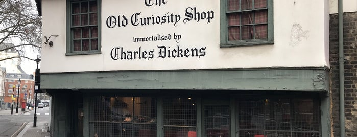 The Old Curiosity Shop is one of Andres: сохраненные места.