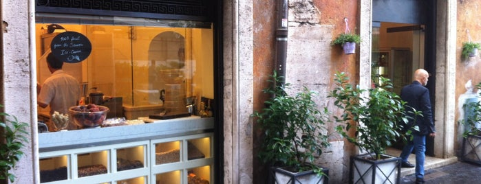 Gelateria del Teatro is one of Rome.