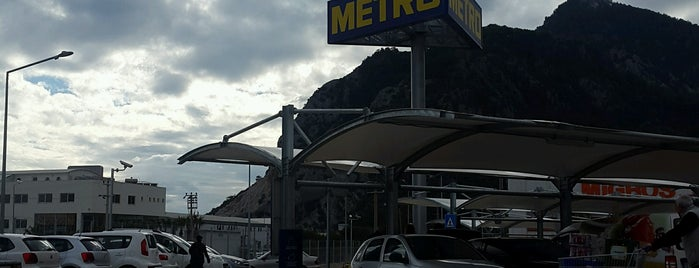 Metro Grosmarket is one of Antalya.