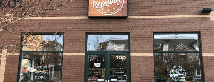 Coffee Republic is one of Lugares favoritos de Adrian.