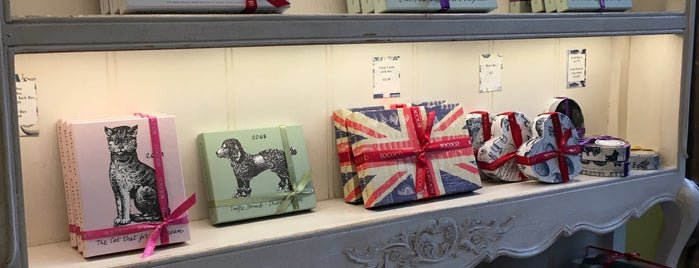 Rococo Chocolates is one of London's Best Chocolate Shops.
