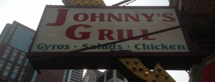 Johnny's Grill is one of Chicago Food.