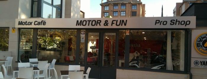 Motor & Fun is one of Tempat yang Disukai diana.