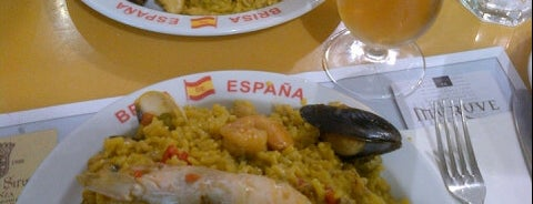 Brisa de España is one of restaurants to try.