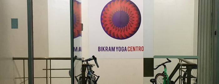 Bikram Yoga Centro is one of Lugares Habitue.