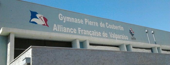 Alliance Française Lycée Jean d'Alembert is one of Orte, die Álvaro gefallen.