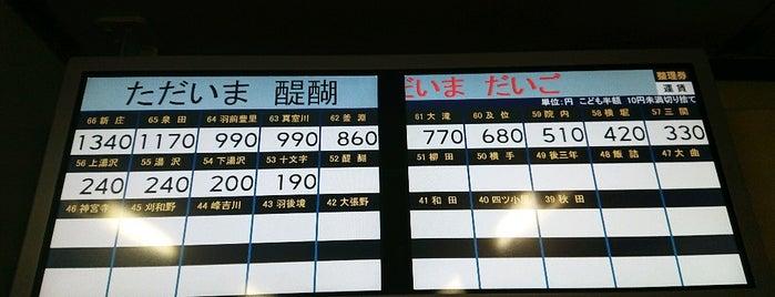 醍醐駅 is one of JR 키타토호쿠지방역 (JR 北東北地方の駅).