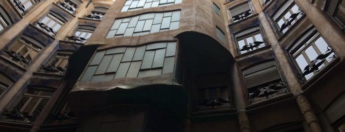 Azotea Casa Milà is one of Barc.