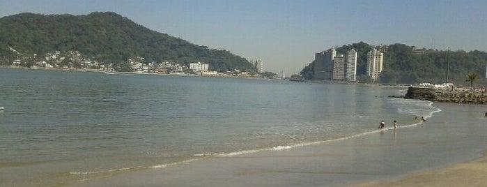 Praia do Gonzaguinha is one of Guilherme 님이 좋아한 장소.