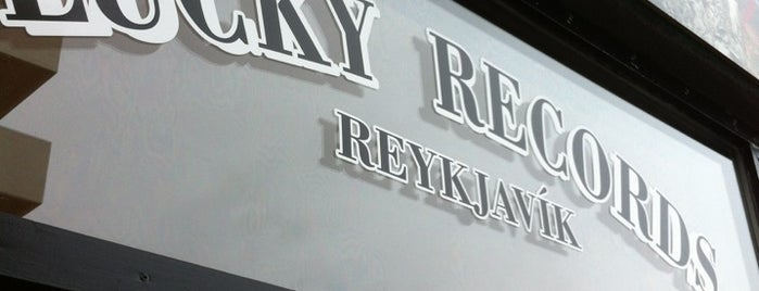 Lucky Records is one of Rvk.