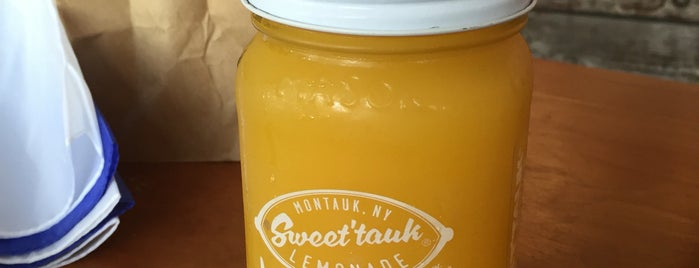 Sweet'tauk Lemonade is one of Montauk.