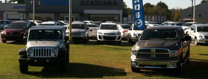 Adrian Vega's Acadiana Dodge is one of สถานที่ที่ Deanne ถูกใจ.
