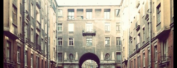 Толстовский дом is one of СПб.