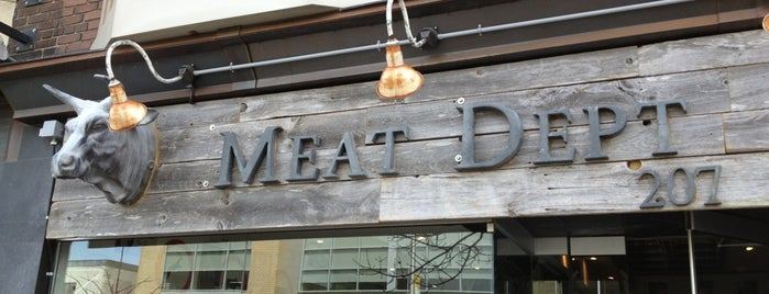 The Meat Department is one of Locais curtidos por Mazen.