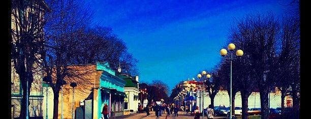 Jomas iela is one of Tempat yang Disukai Денис.