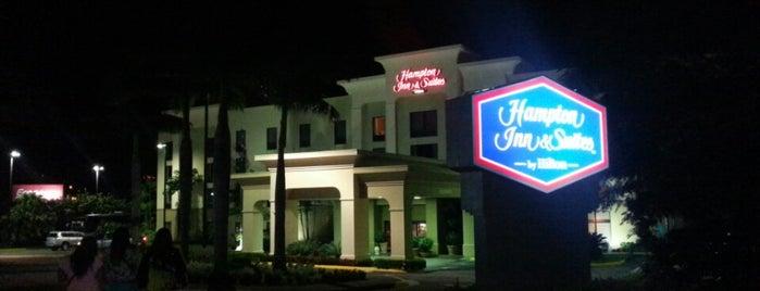 Hampton Inn & Suites is one of Lugares favoritos de Al.