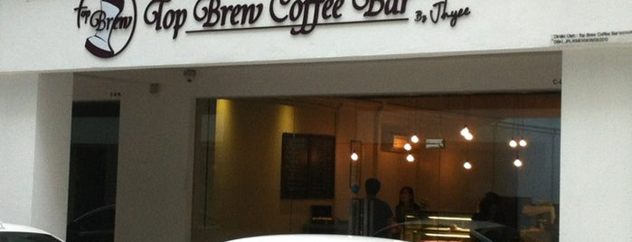 Top Brew Coffee Bar is one of Kopi Places.