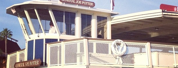 General Joe Potter Ferryboat is one of Transportation & Misc Disney World Venues.