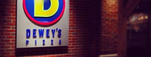 Dewey's Pizza is one of Orte, die David gefallen.