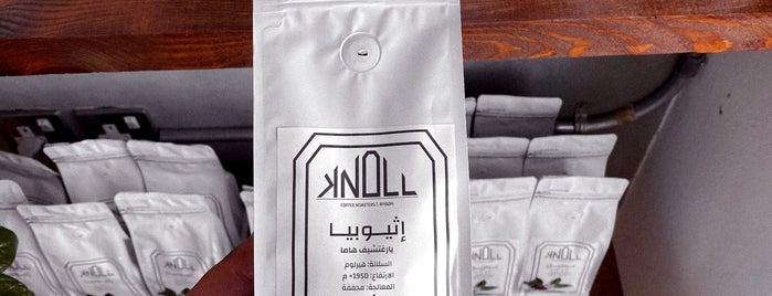 Knoll Coffee Roasters is one of Ma new list.