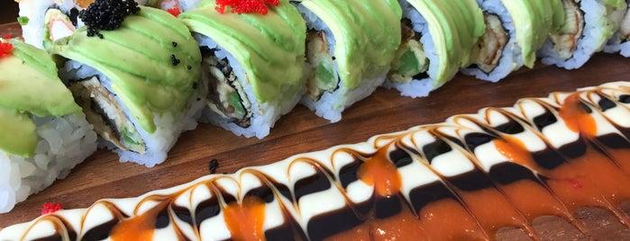 MASU (Maki & Sushi Bar) is one of phongthonさんのお気に入りスポット.