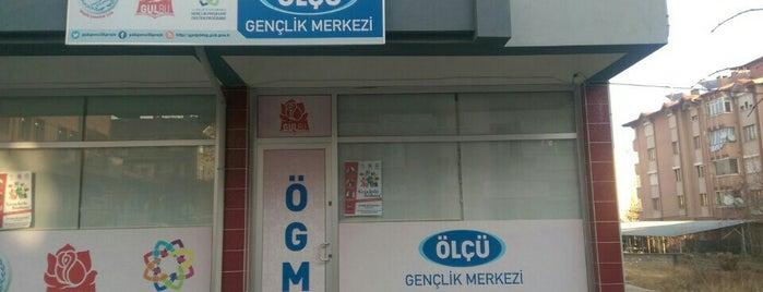 Ölçü Gençlik Merkezi is one of Tempat yang Disukai barış.