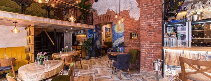 Wine Gogh Restaurant is one of SPB.