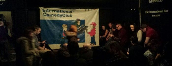 International ComedyClub is one of Dublin.