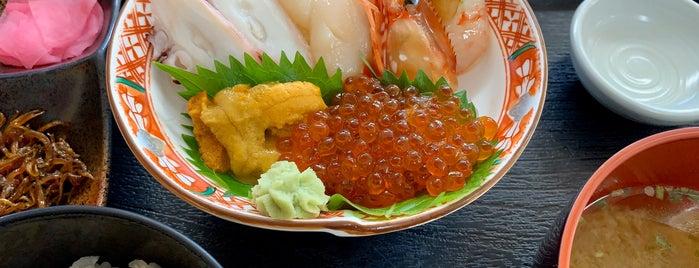 お食事処 あとい is one of [todo] 稚内&利尻島.
