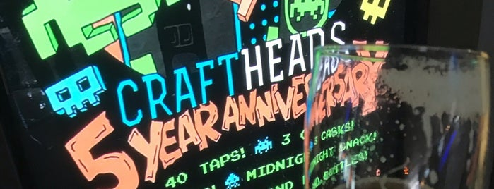 Craft Heads Brewing Company is one of Detroit.
