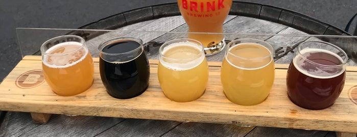 Brink Brewing Company is one of Lugares favoritos de Mark.