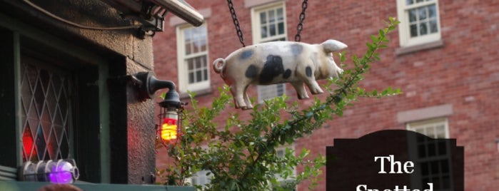 The Spotted Pig is one of NY Eat.