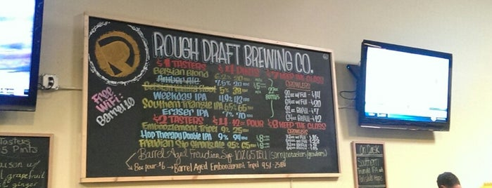 Rough Draft Brewing Company is one of San Diego Trip 3.