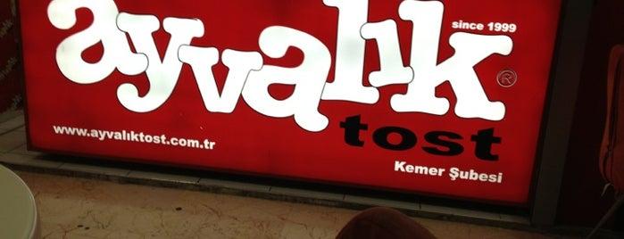 Ayvalık Tost is one of Wxz'ın Beğendiği Mekanlar.