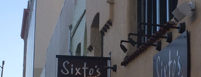 Sixto's Cantina is one of Kathryn 님이 좋아한 장소.