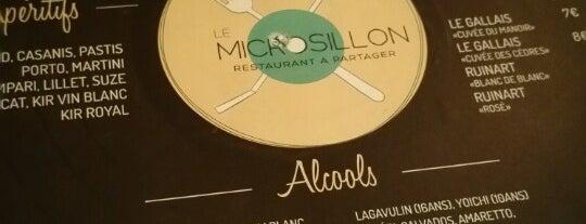 Au Microsillon is one of So Paris : trendy bistronomie.