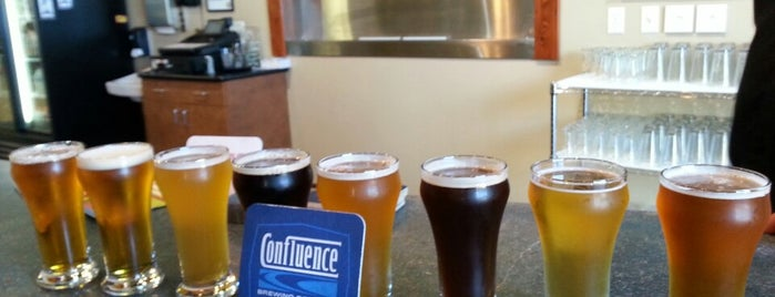 Confluence Brewing Company is one of Orte, die Grant gefallen.
