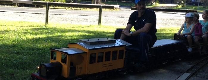 Central Coast Miniature Railway is one of Tempat yang Disukai Matt.