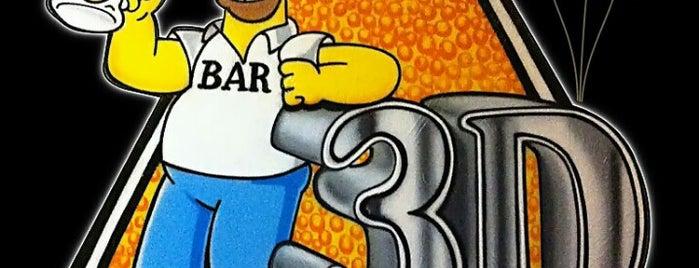Bar 3D is one of Orte, die Fabricio gefallen.