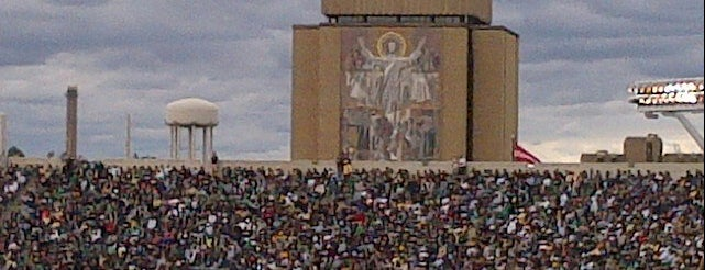 Notre Dame Stadium is one of FBS Stadiums.