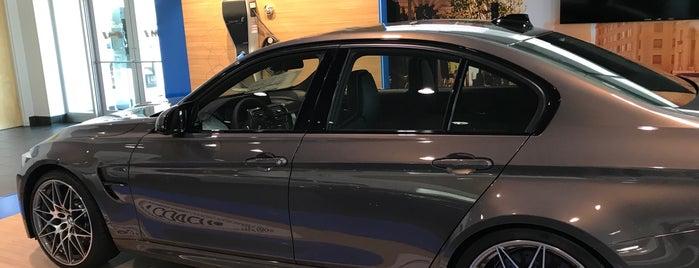 BMW of Devon is one of Orte, die Irina gefallen.